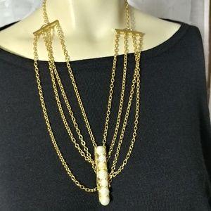 REBECCA MINKOFF Multi Strand Necklace